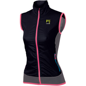 Karpos Lavaredo bodywarmer Dames, black/dark grey